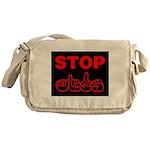 Stop AIDS Messenger Bag