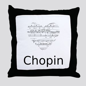 Chopin Throw Pillow