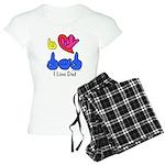 I-L-Y Dad Women's Light Pajamas
