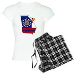 ILY Georgia Women's Light Pajamas