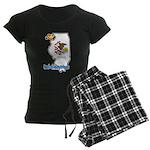 ILY Illinois Women's Dark Pajamas