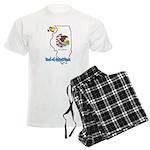 ILY Illinois Men's Light Pajamas