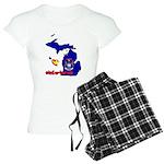 ILY Michigan Women's Light Pajamas