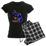 ILY Michigan Women's Dark Pajamas