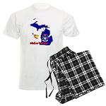 ILY Michigan Men's Light Pajamas