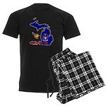 ILY Michigan Men's Dark Pajamas