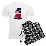ILY Mississippi Men's Light Pajamas