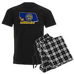 ILY Nebraska Men's Dark Pajamas