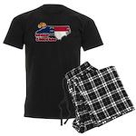 ILY North Carolina Men's Dark Pajamas