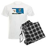ILY Oklahoma Men's Light Pajamas