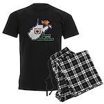 ILY West Virginia Men's Dark Pajamas
