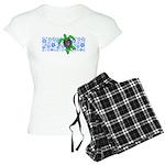 ILY Hawaii Turtle Women's Light Pajamas