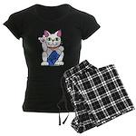 ILY Neko Cat Women's Dark Pajamas