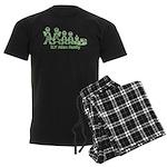 ILYAlienFamilyText Men's Dark Pajamas