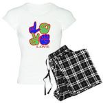 Square F.S. LOVE Women's Light Pajamas