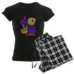 Square F.S. LOVE Women's Dark Pajamas