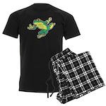 ASL Frog in Flight Men's Dark Pajamas