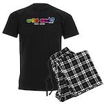 Got ASL? Rainbow CC Men's Dark Pajamas