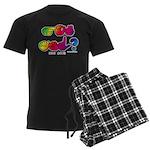 Got ASL? Rainbow SQ CC Men's Dark Pajamas