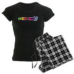 Got ASL? Rainbow Women's Dark Pajamas
