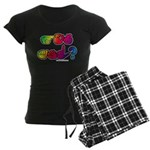 Got ASL? Rainbow SQ Women's Dark Pajamas