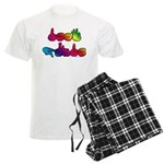 Deaf Pride Rainbow Men's Light Pajamas