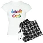 DEAF CAN Pastel Women's Light Pajamas