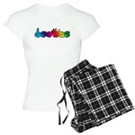DEAFIE Rainbow Women's Light Pajamas
