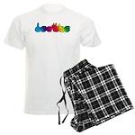 DEAFIE Rainbow Men's Light Pajamas