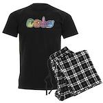 CODA Pastel Men's Dark Pajamas