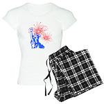 ILY Fireworks Liberty Women's Light Pajamas