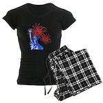 ILY Fireworks Liberty Women's Dark Pajamas