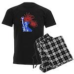 ILY Fireworks Liberty Men's Dark Pajamas
