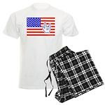 ILY Flag Men's Light Pajamas