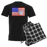 ILY Flag Men's Dark Pajamas