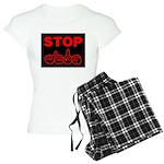 Stop AIDS Women's Light Pajamas