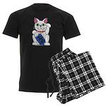 ManekiNeko Men's Dark Pajamas