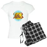 Illuminati Golden Apple Women's Light Pajamas