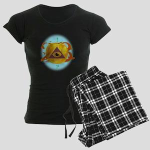 Illuminati Golden Apple Women's Dark Pajamas