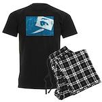 Chain Eye Men's Dark Pajamas