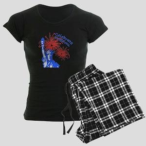 Freedom Liberty Women's Dark Pajamas