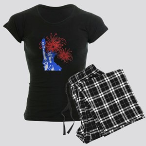Fireworks Liberty Women's Dark Pajamas