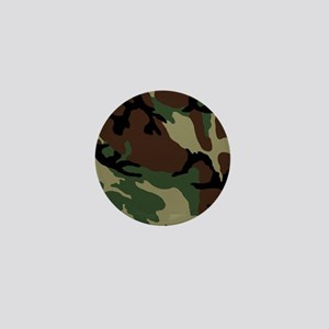 Camouflage Pattern Mini Button