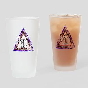 Brazilian Jiu Jitsu Triangle Drinking Glass