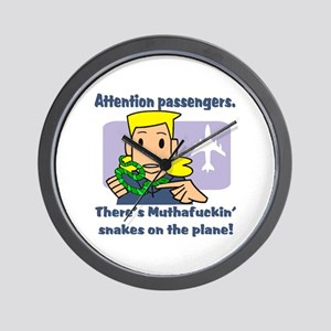 Attention Passengers SoaP Wall Clock