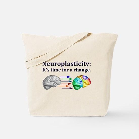 Cute Brain Tote Bag