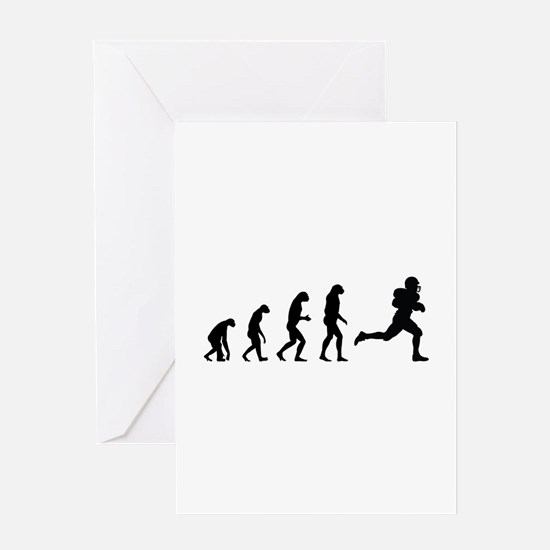Evolution rugby Greeting Card