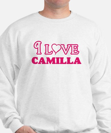 I Love Camilla Sweatshirt