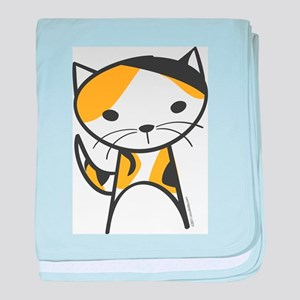 Calico Cat baby blanket