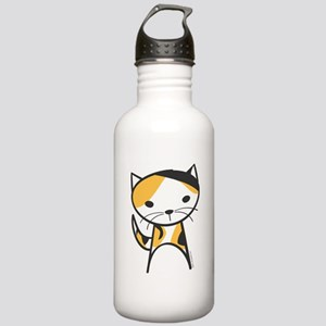 Calico Cat Stainless Water Bottle 1.0L
